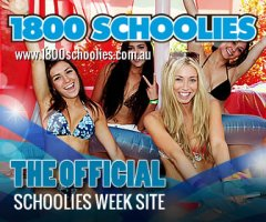 1800 Schoolies is the official Schoolies Week accommodation website
