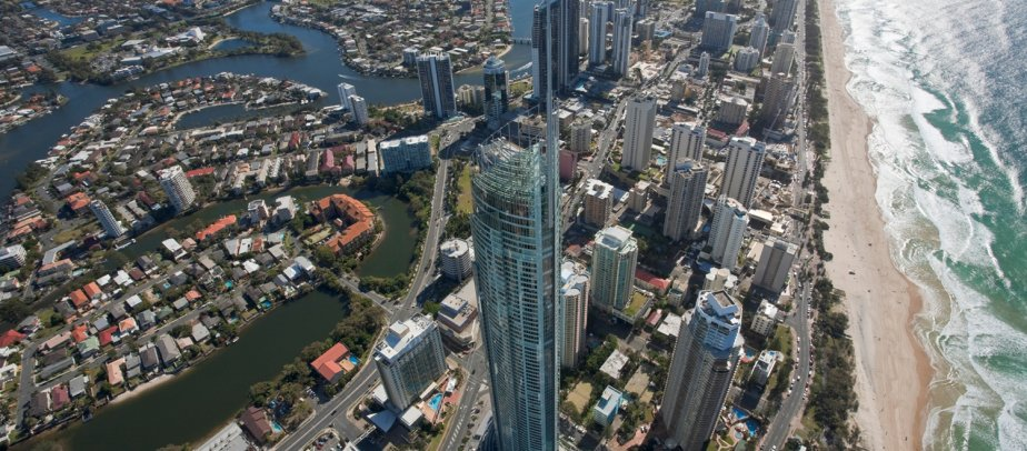 Surfers Paradise Aerial View