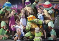 Teenage Mutant Ninja Turtles Photo From Sea World